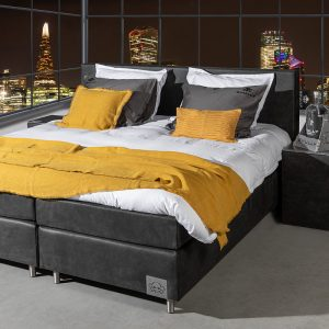 Skully Boxspringset Skully Premium - Incl. Hockers 100 x 210 cm