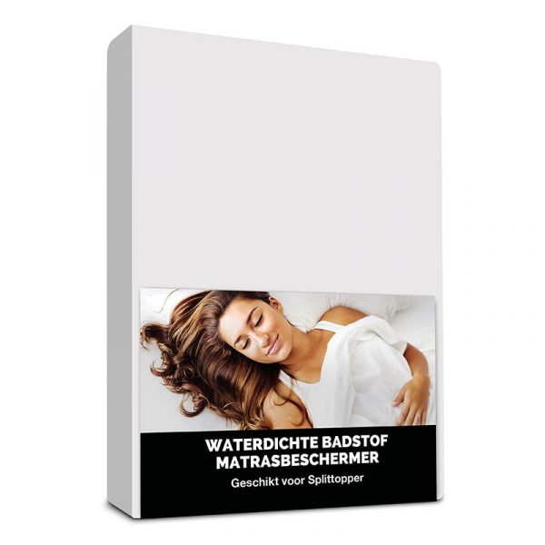 Hoeslaken Microvezel-Polyester/ Badstof - 160x200 cm - - Fresh & Co - Ga naar Dekbed-Discounter.nl & Profiteer Nu